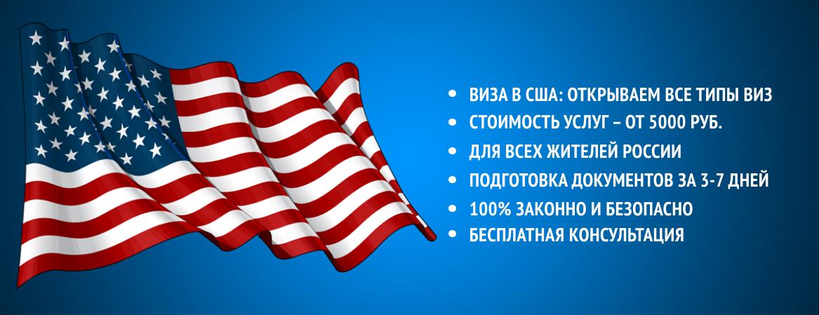Получить визу в США
