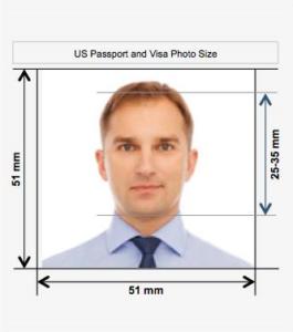 Американская виза: фото