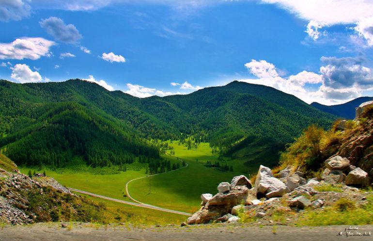 Фото: Сплав по Катуни и конный тур на Алтае