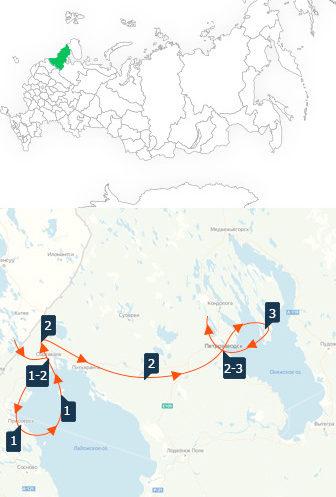 Фото: Соловки — Кижи — Валаам, тур по Русскому Северу