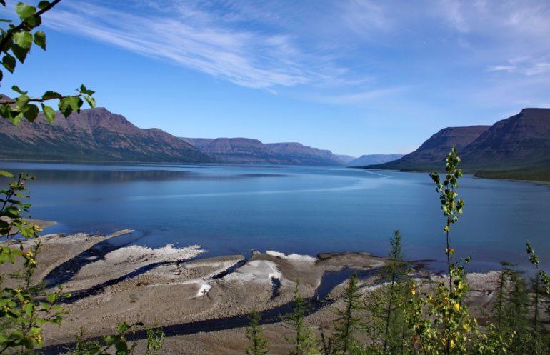 Фото: На озере Лама — Кемпинг на плато Путорана